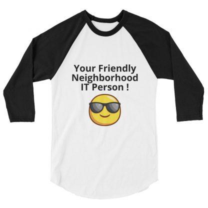 Baseball Shirt - IT Person